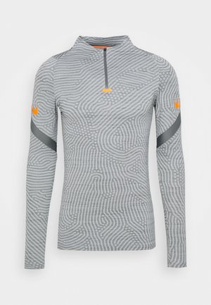 DRY STRIKE DRILL - Funktionsshirt - smoke grey/total orange