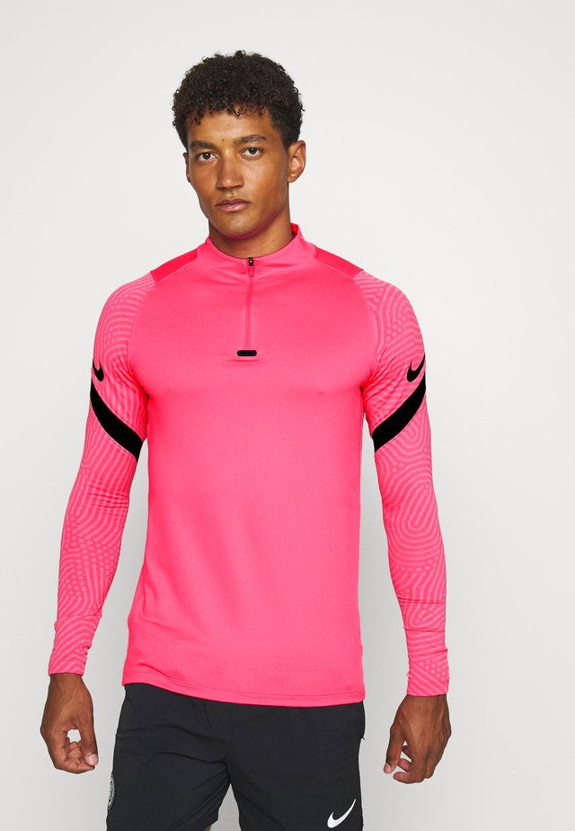 DRY STRIKE DRILL - Sports shirt - hyper pink/pink glow/black