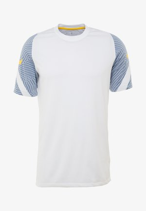 DRY  - Sports shirt - white/obsidian mist/laser orange