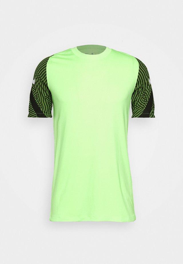 DRY  - Camiseta estampada - ghost green/cargo khaki/white