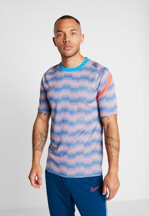 DRY - T-shirt imprimé - laser blue/laser blue/laser crimson