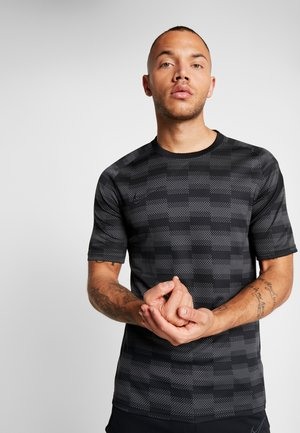DRY - T-shirt med print - black/anthracite