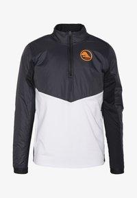 Nike Performance - Training jacket - black/white/silver - 3