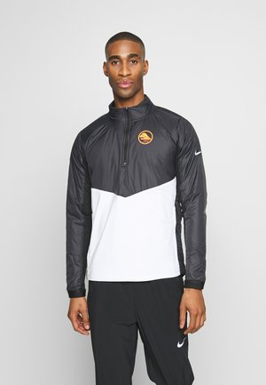 Training jacket - black/white/silver