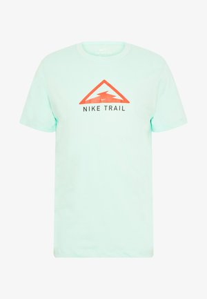DRY TEE TRAIL - Camiseta estampada - mint foam