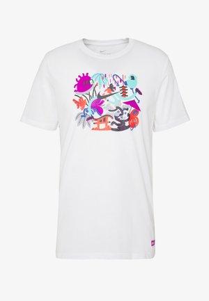 DRY TEE TOKYO - Camiseta estampada - white