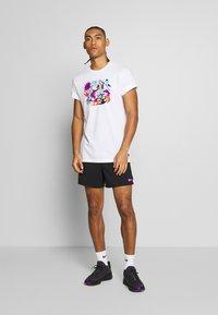 Nike Performance - DRY TEE TOKYO - T-Shirt print - white - 1