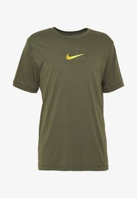 Nike Performance - DRY TEE - T-shirt imprimé - cargo khaki - 4