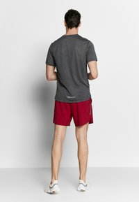 Nike Performance - DRY MILER - T-shirt print - black/iron grey - 2