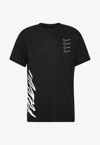 Nike Performance - Camiseta estampada - black/white - 5