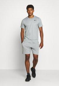 Nike Performance - DRY - T-shirts - smoke grey/light smoke grey/heather/black - 1