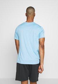 Nike Performance - DRY - Camiseta básica - laser blue/psychic blue/heather/black - 2