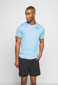 Nike Performance - DRY - Camiseta básica - laser blue/psychic blue/heather/black - 0
