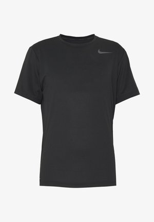 DRY - T-shirt - bas - black/white