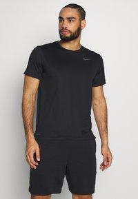Nike Performance - DRY - T-shirt basic - black/white - 0