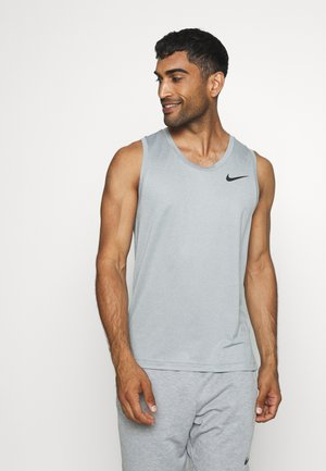 TANK DRY - Sports shirt - smoke grey/black