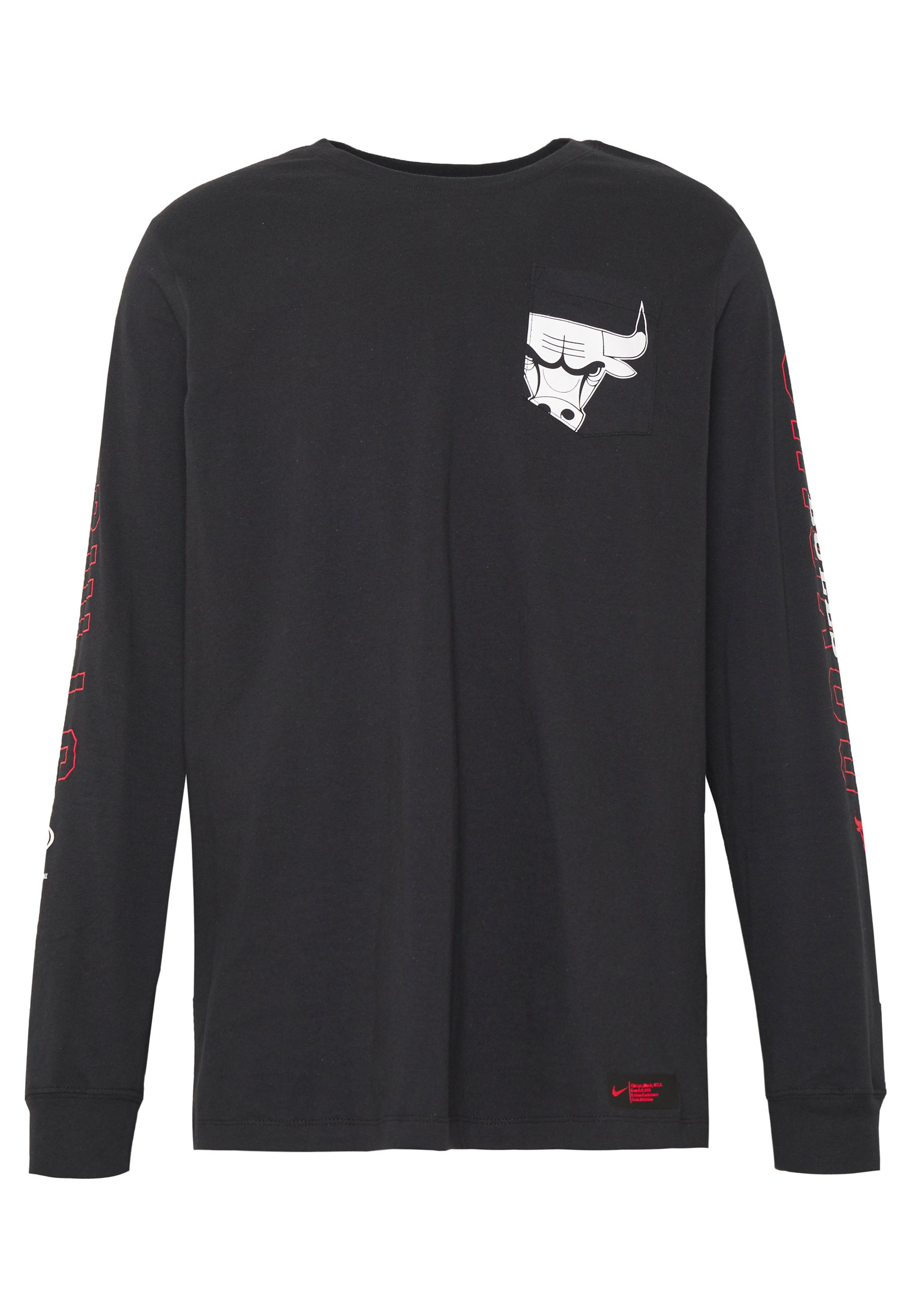 Nike Performance Nba Chicago Bulls Long Sleeve - Klubbkläder Black