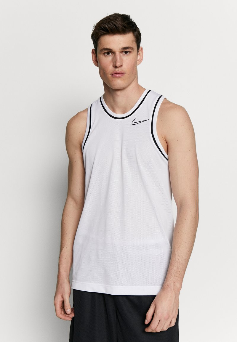 Nike Performance - DRY CLASSIC - Top - white/black