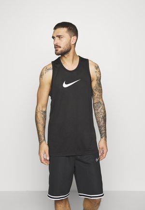 DRY CROSSOVER - Camiseta de deporte - black/white