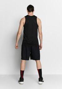 Nike Performance - DRY CROSSOVER - Funktionströja - black/white - 2