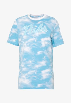 CITY EXPLORATION EDITION DNA TEE CHICAGO - T-shirt imprimé - white/psychic blue/sail