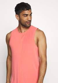 Nike Performance - DRY TANK YOGA - Camiseta de deporte - magic ember/black - 3