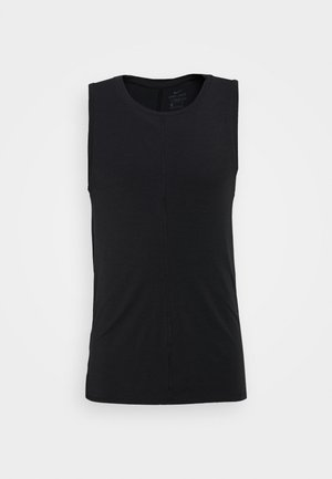 DRY TANK YOGA - Fitness/yoga - black/iron grey