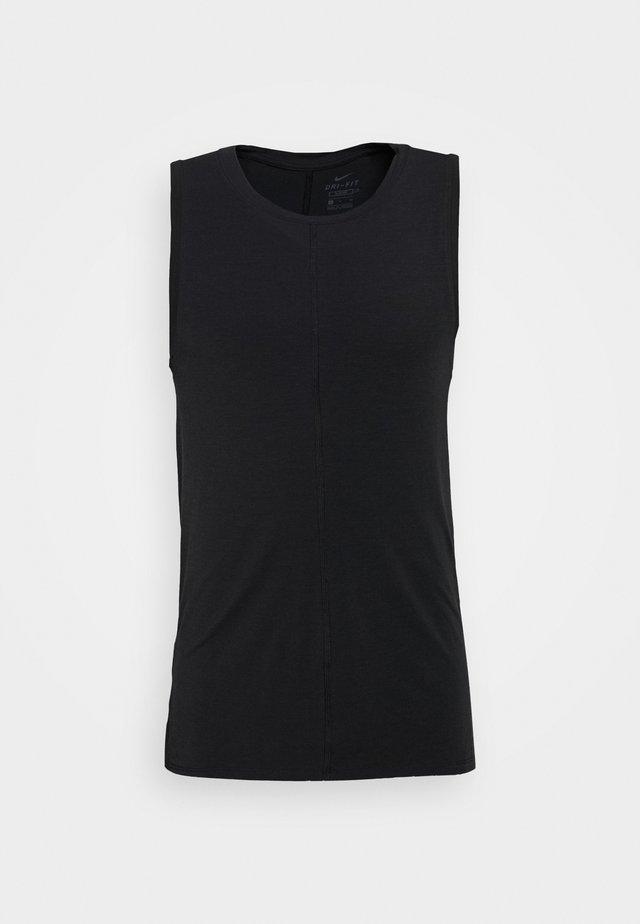 DRY TANK YOGA - Equipement de fitness et yoga - black/iron grey