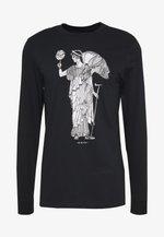DRY BASKETBALL MARBLE LONG SLEEVE  - Treningsskjorter - black