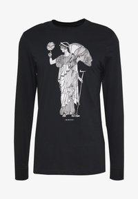 Nike Performance - DRY BASKETBALL MARBLE LONG SLEEVE  - Camiseta de deporte - black - 4