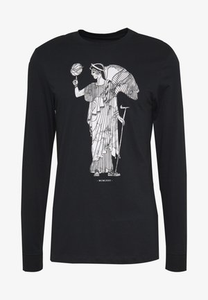 DRY BASKETBALL MARBLE LONG SLEEVE  - Funkční triko - black
