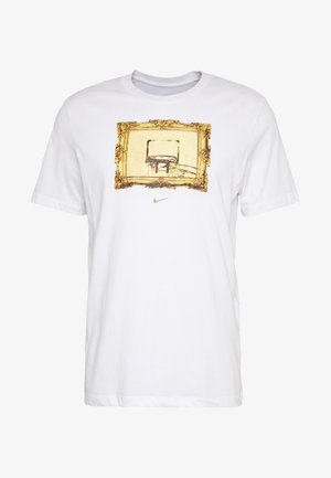 DRY TEE CORE BBALL - Print T-shirt - white