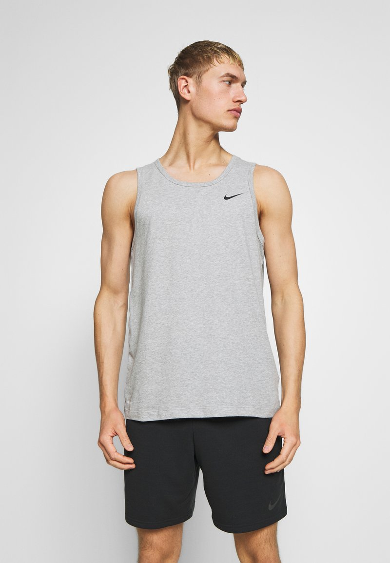 Nike Performance - DRY TANK SOLID - Funktionströja - grey heather