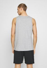 Nike Performance - DRY TANK SOLID - Funktionströja - grey heather - 2