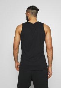 Nike Performance - DRY TANK SOLID - Sportshirt - black /white - 2
