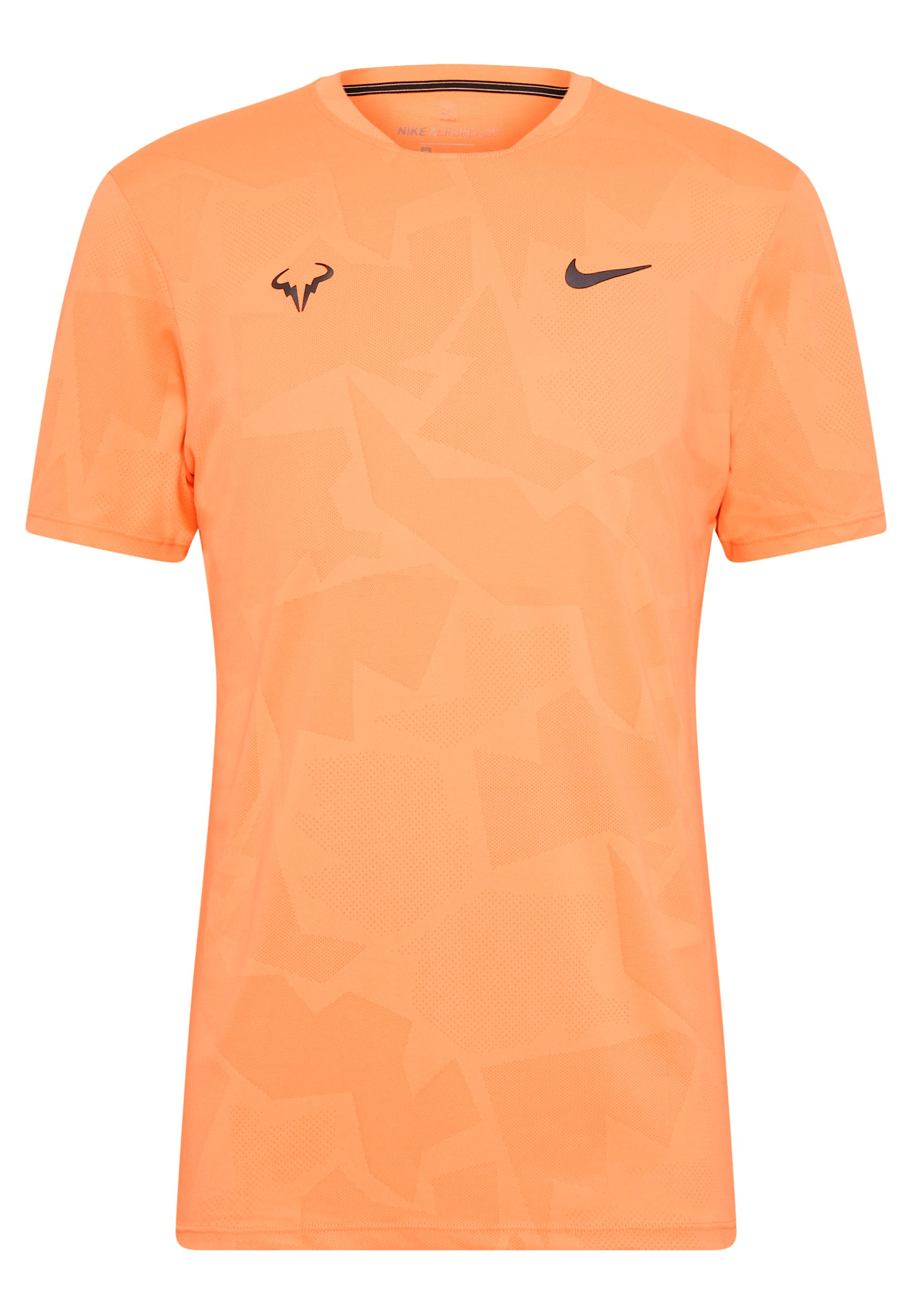 Nike Performance RAFAEL NADAL T shirt print orange pulse