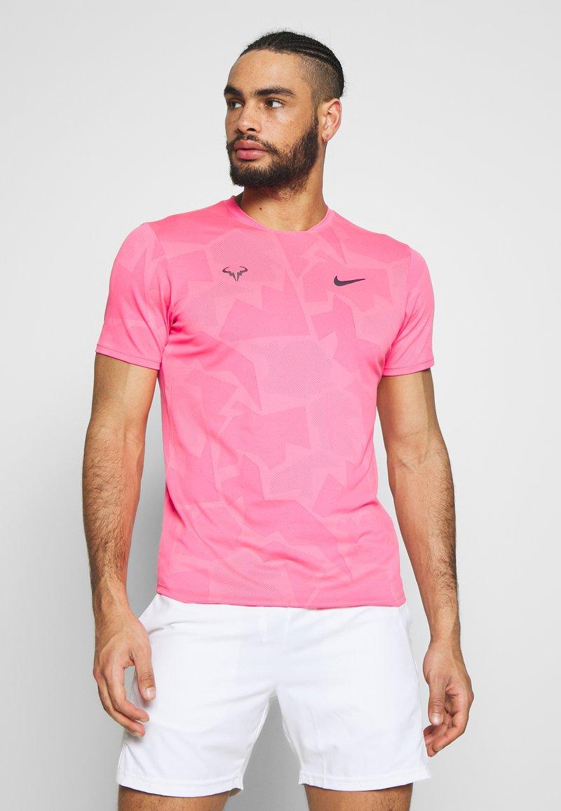 Nike Performance - RAFAEL NADAL  - Camiseta estampada - digital pink