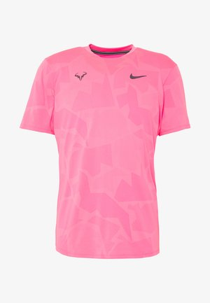 RAFAEL NADAL  - Print T-shirt - digital pink