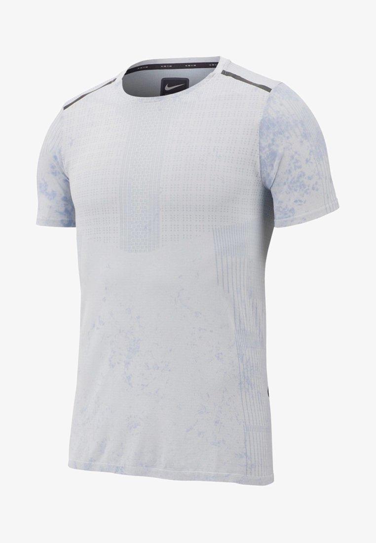 Nike Performance - Print T-shirt - light gray