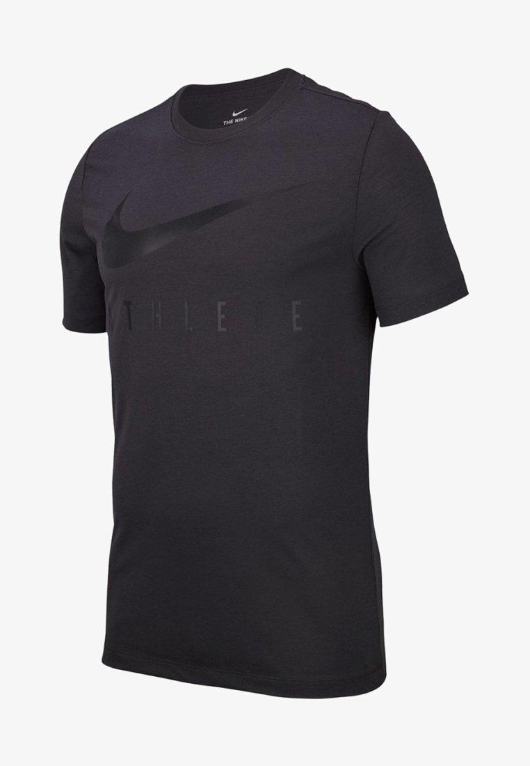 Nike Performance - Print T-shirt - graphite