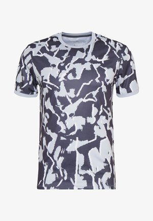 DRY TOP TEAM - T-shirt z nadrukiem - sky grey/white