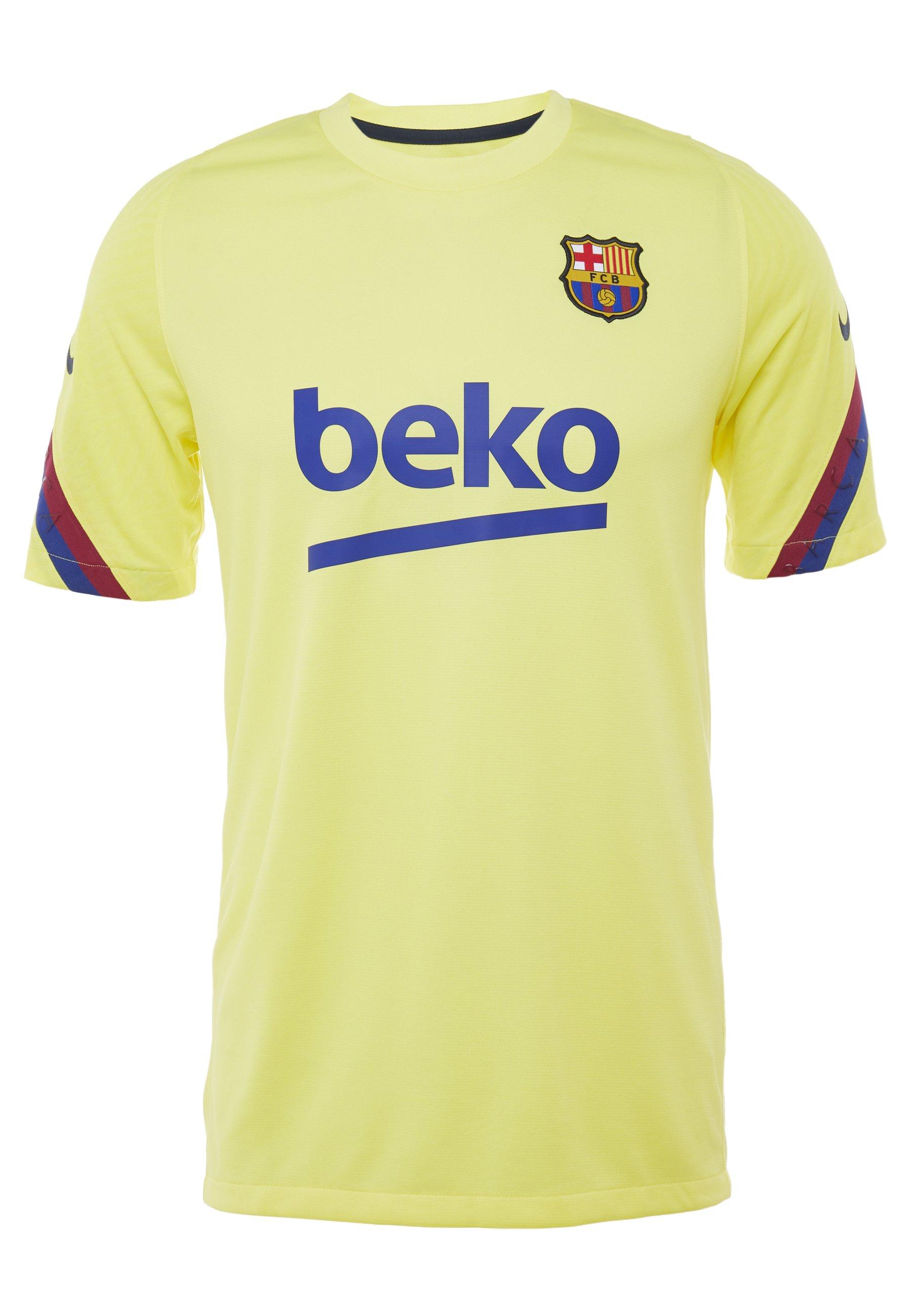Nike Performance Fc Barcelona Top - Article De Supporter Sonic Yellow/dark Obsidian