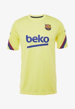 FC BARCELONA TOP - Article de supporter - sonic yellow/dark obsidian