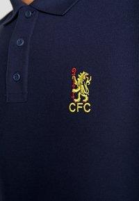 Nike Performance - CFC CORE MATCHUP - Polo - obsidian/tour yellow - 5