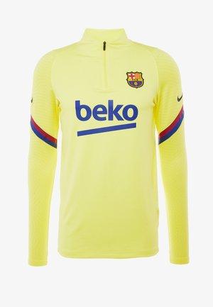 FC BARCELONA DRY DRIL - Klubbkläder - sonic yellow/sonic yellow/dark obsidian