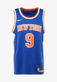 Nike Performance - NBA RJ BARRETT NEW YORK KNICKS SWINGMAN - Fanartikel - rush blue - 4