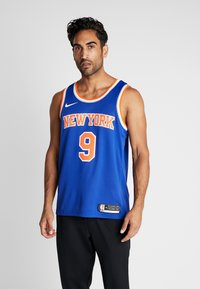 Nike Performance - NBA RJ BARRETT NEW YORK KNICKS SWINGMAN - Fanartikel - rush blue - 0