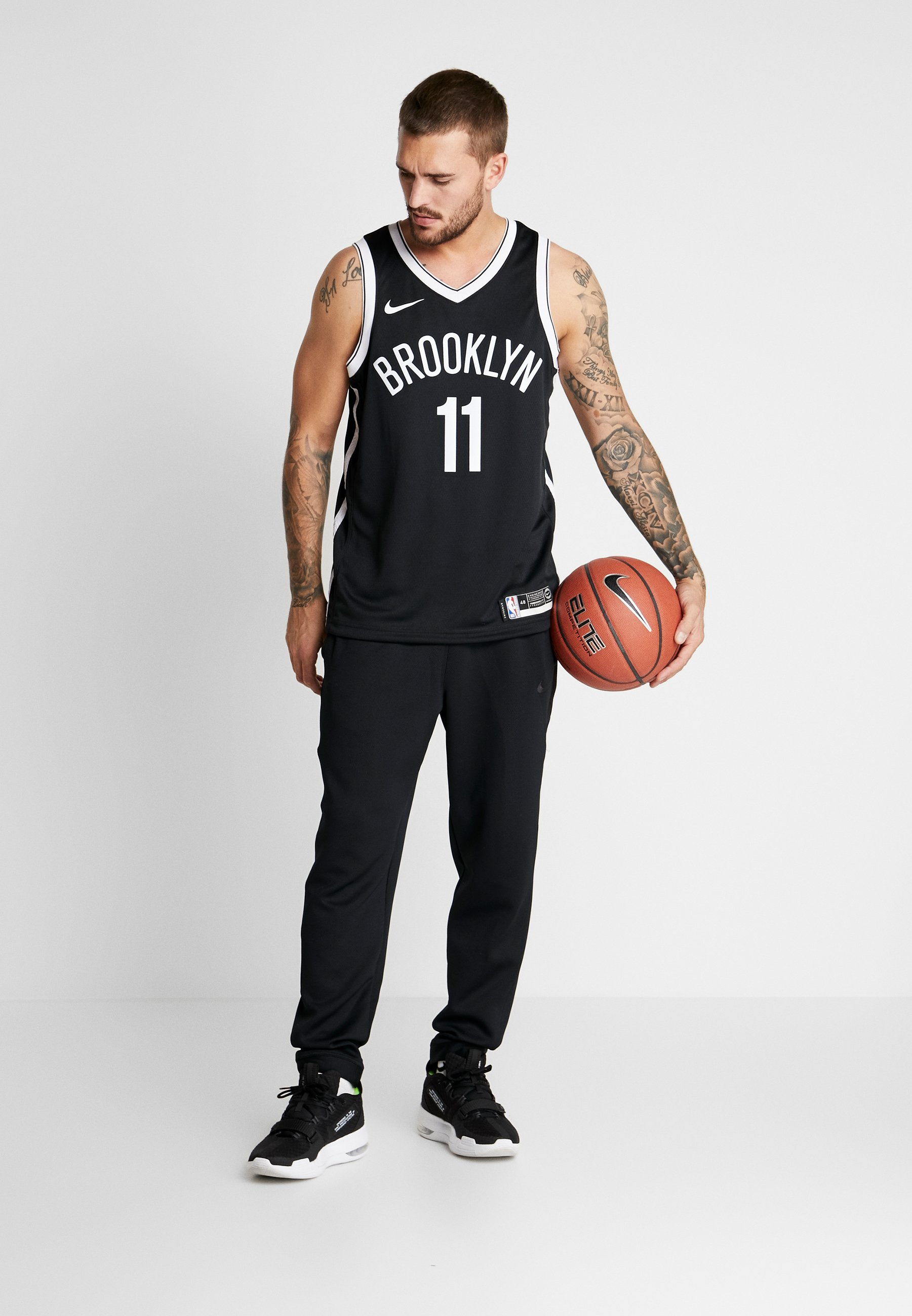 Nike Performance Nba Kyrie Irving Brooklyn Nets Swingman - Club Wear Black UK