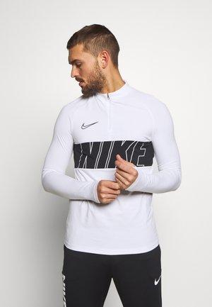 DRY ACADEMY - Camiseta de deporte - white/black