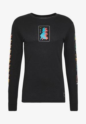 M NK DRY TEE LS A.I.R. A SAVAG - T-shirt de sport - black